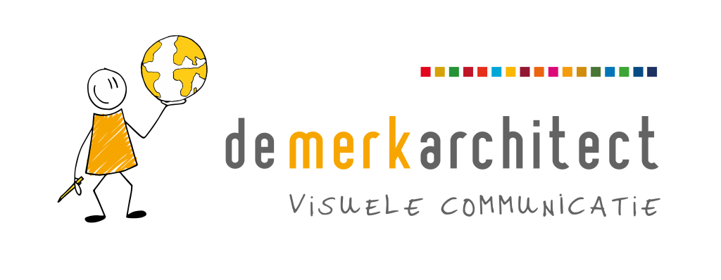 De Merkarchitect Visuele Communicatie logo